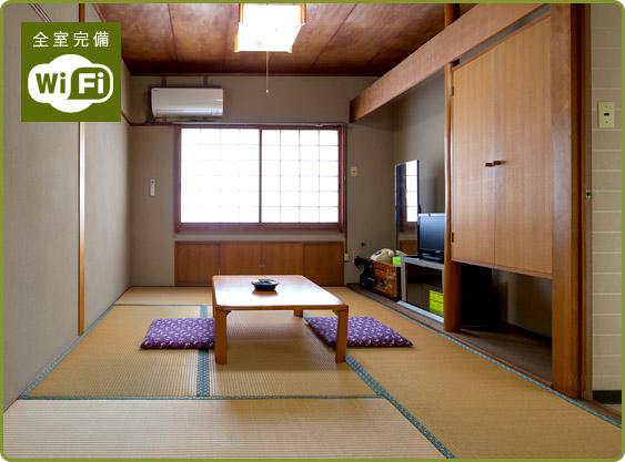 9畳和室本館【全室wi-fi完備】
